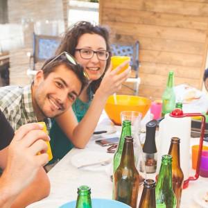 afrontar celebraciones familiares y amigos