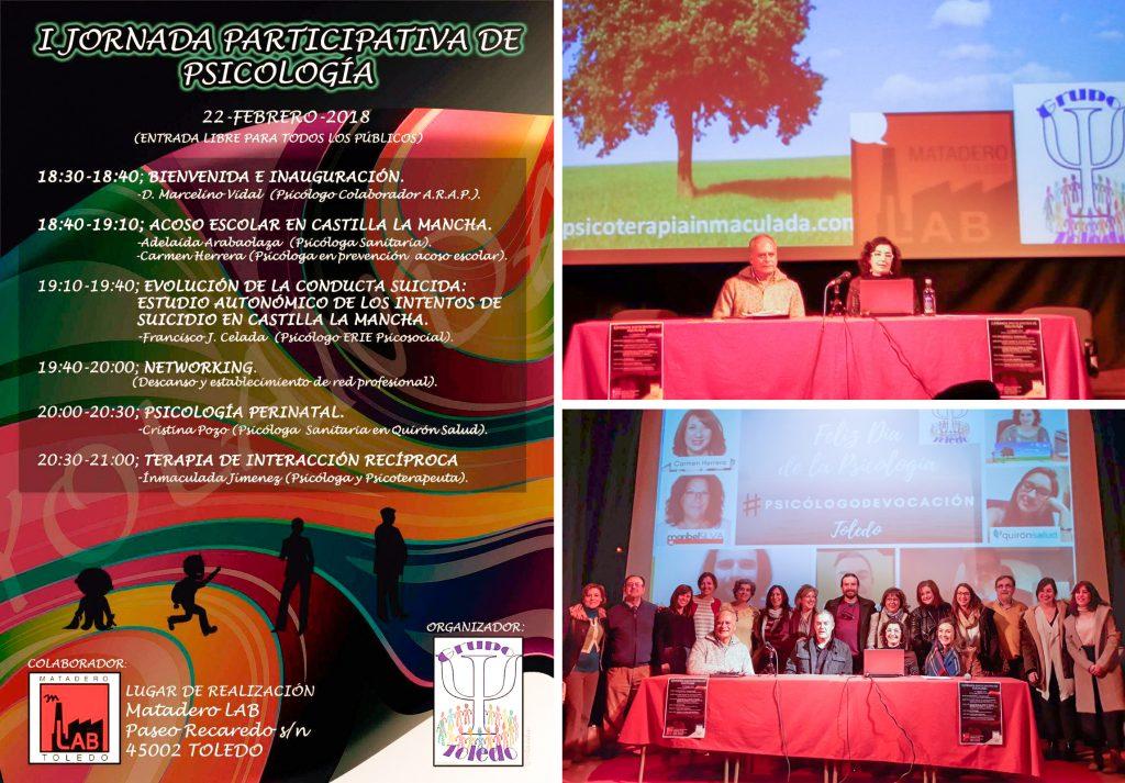 psicología Toledo jornadas participativas