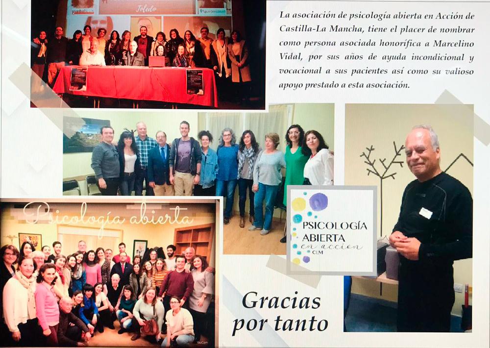 segundas jornadas de psicología participativa en Toledo 2020