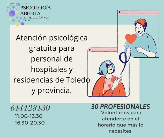 Asociacion Psicología Abierta en acción de CLM